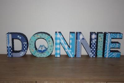 Decoratie letters xenos