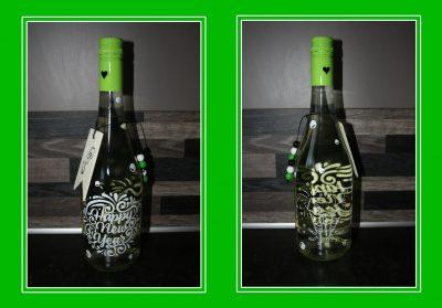 fles wijn oudjaar