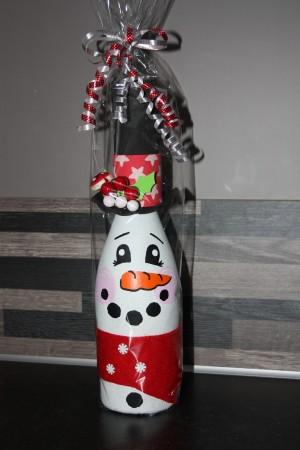foto decoratiefles kerst