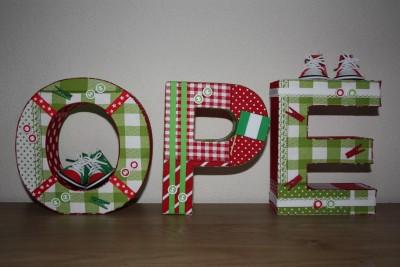 foto decoratieletters Opé
