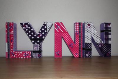 foto decoratieletters Lynn