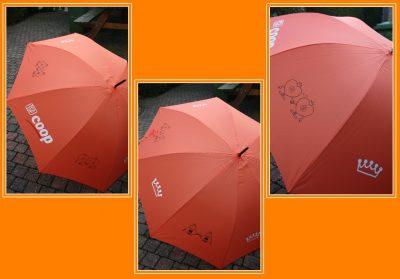 foto paraplu koningsdagstijl